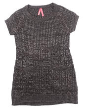La Galleria - CABLE KNIT SWEATER DRESS (4-6X)