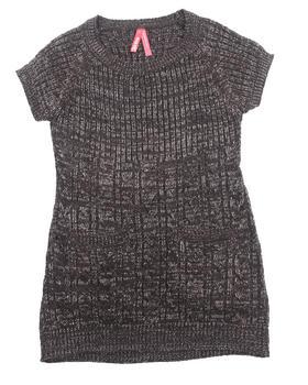 La Galleria - CABLE KNIT SWEATER DRESS (4-6X)