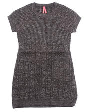 La Galleria - CABLE KNIT SWEATER DRESS (7-16)