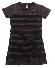 Sizes 7-16 - Big Kids - LUREX SWEATER DRESS (7-16)