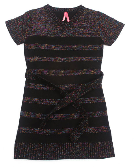 La Galleria - LUREX SWEATER DRESS (7-16)