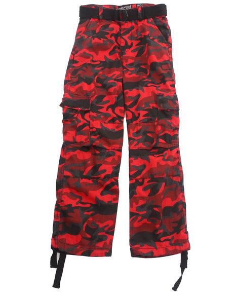 Boy Cargo Camo Pants