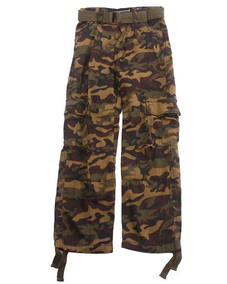 Arcade Styles Boys Camo,Olive Camo Cargo Pants (8-20)