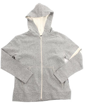 Arcade Styles - MARLED FRENCH TERRY HOODY (8-20)