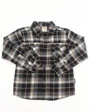 Boys - PLAID FLANNEL SHIRT (8-20)