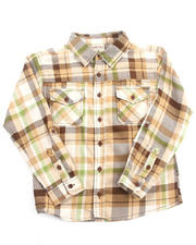 Cyber Monday Shop - Boys - PLAID FLANNEL SHIRT (8-20)