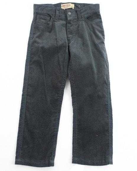 Arcade Styles - Boys Blue Corduroy Pants (4-7)