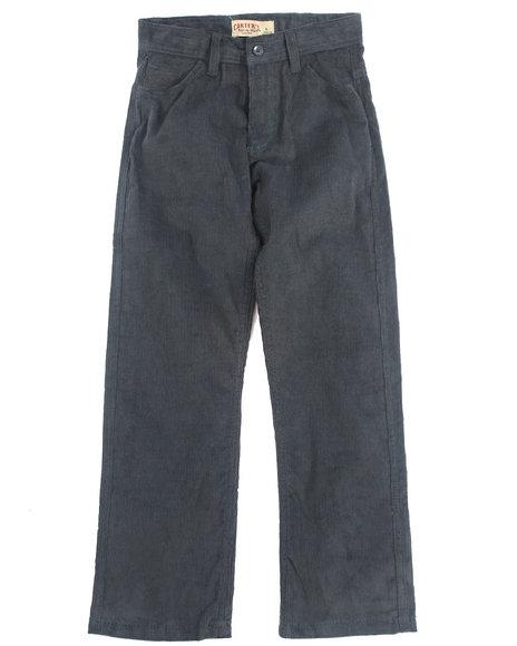 Arcade Styles - Boys Blue Corduroy Pants (8-20)
