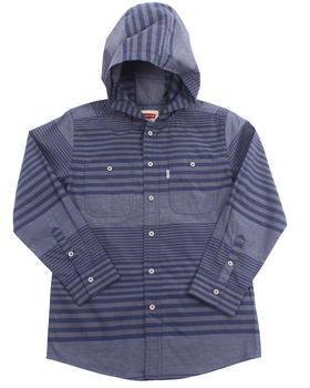 Levi's - HOODED STRIPED WOVEN (8-20)