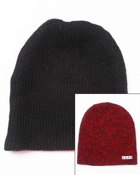 Neff Daily Reversible Knit Hat Black