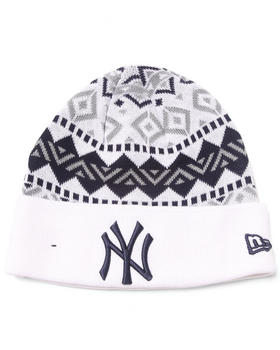 New Era - New York Yankees Ivory Cuff knit hat