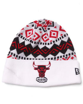 New Era - Chicago Bulls Ivory Cuff knit hat