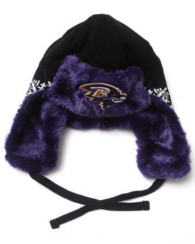 New Era - Baltimore Ravens Snowflake Trapper Knit Hat