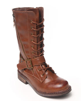 Rebels - Rnb Lace Up Combat Boots