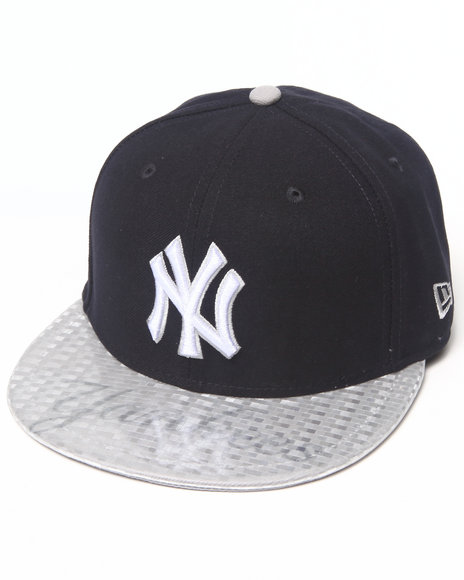 New Era - Men Navy New York Yankees Viza Graph 5950 Fitted Hat
