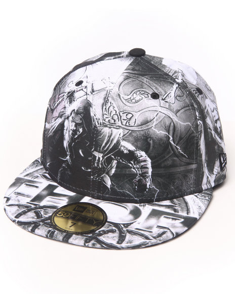 New Era - Men Multi Thor 2  All Over Graphic 5950Fitted Hat
