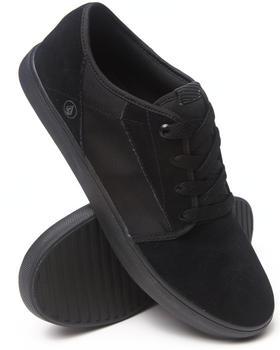 Volcom - Grimm Black on Black Suede/Nylon Sneakers