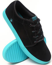 Volcom - Grimm Blue Black/Leather Sneakers