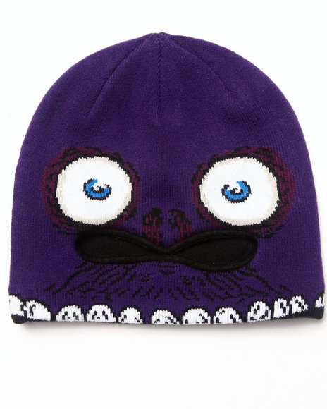 Volcom Boys Strange Mid-Face Mask Purple