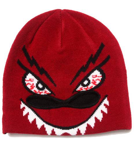 Volcom Boys Strange Mid-Face Mask Red