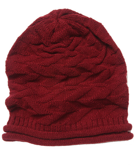 Volcom Warm It Up Slouch Beanie Maroon