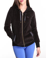 Women - Velour Jacket