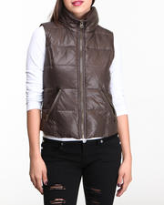 Nine West - Funnel Neck Down Vest