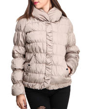 Nine West - Hot Quilted Short Bomber Coat