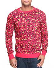 Men - Leopard Crewneck Shirt