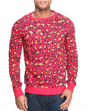 WESC - Leopard Crewneck Shirt