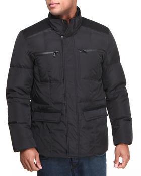 Kenneth Cole - Mock Neck Puff Jacket