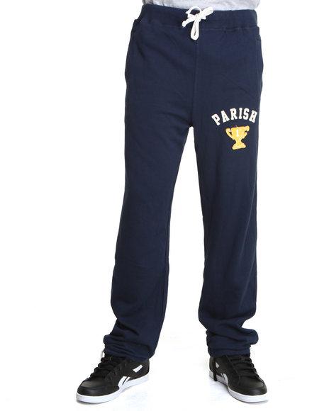 Parish Navy Sweatpants