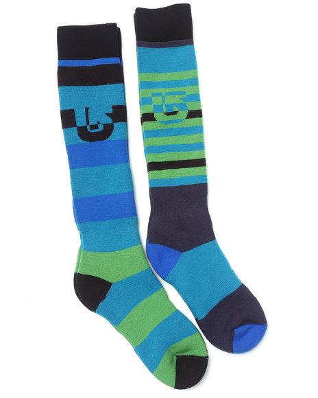 Burton Blue Weekender Two-Pack Socks