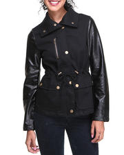 Fashion Lab - Short Anorak Lightweight jacket