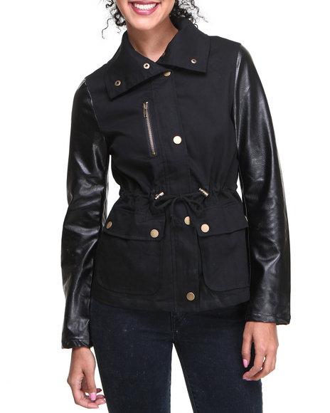 Fashion Lab - Short Anorak Lightweight jacket