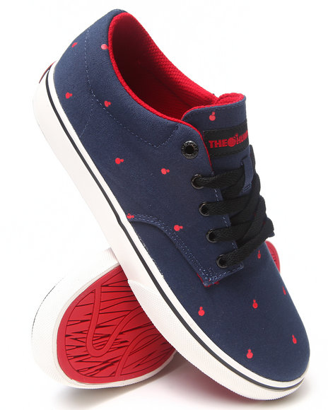 The Hundreds Navy Johnson Low Polka Bomb Sneakers