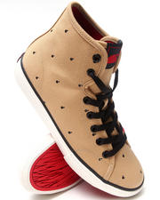 Footwear - Valenzuela High Polka Bomb Sneakers