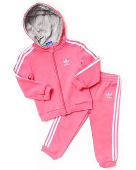 Adidas - Hooded Flock Tracksuit
