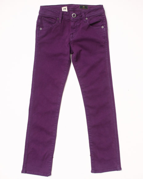 Volcom Boys Purple 2X4 Jeans (8-20)