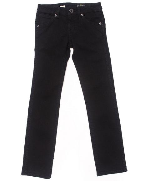 Volcom Boys Black 2X4 Jeans (8-20)