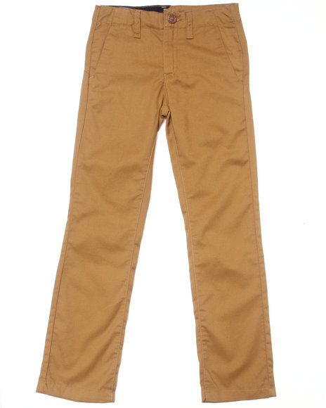 Volcom Boys Brown Faceted Pants (8-20)
