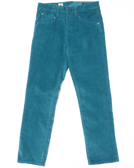 Volcom - Boys Teal Riser Cord Pants (8-20)