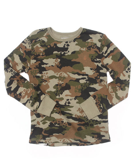 Volcom - Boys Camo Lingo Thermal (8-20)