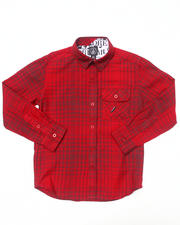Button-downs - L/S Donner Woven (8-20)