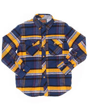 Button-downs - Dermot Flannel Woven (8-20)
