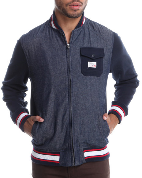 Parish Blue Baalbek Jacket