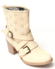 Fashion Lab - Kris Bootie w/buckles