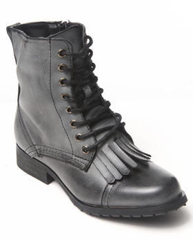 Fashion Lab - Military Lace-up boot