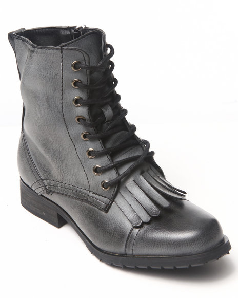 Women Lace Up Boot