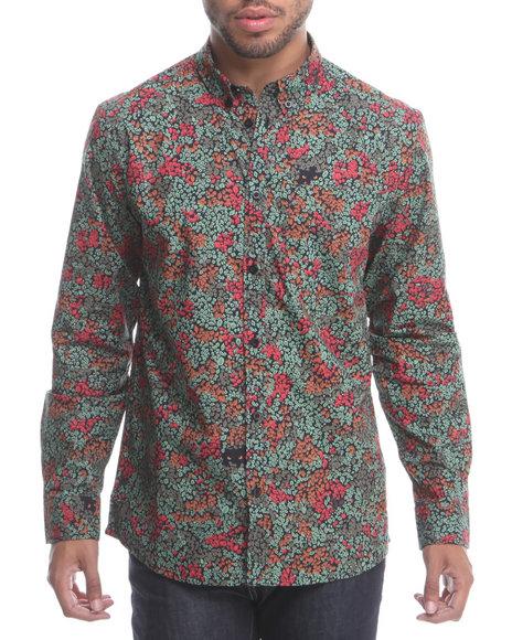 WESC Multi Leijon L/S Button Down Shirt